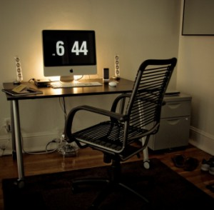 home office for couples
