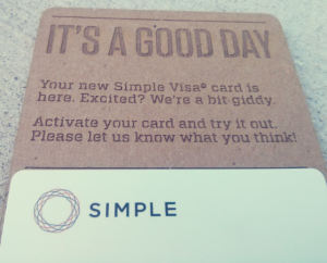 Simple – A Checking Account That Helps You Save